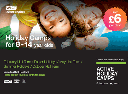 Kids get fit and have fun at Active Holiday Camps