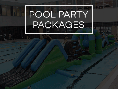 Find out more about our pool party packages