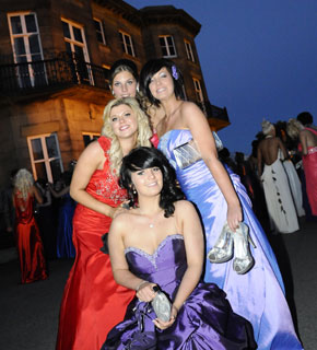 In the Proms party mood at Haigh Hall