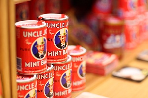 Uncle Joe's Mint Balls - the taste of Wigan for years!